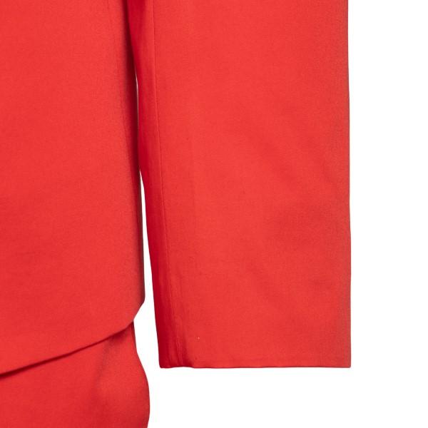 Elegant red suit                                                                                                                                       EMPORIO ARMANI