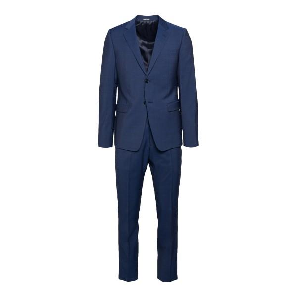 Classic blue suit                                                                                                                                     Emporio Armani A1V18B back