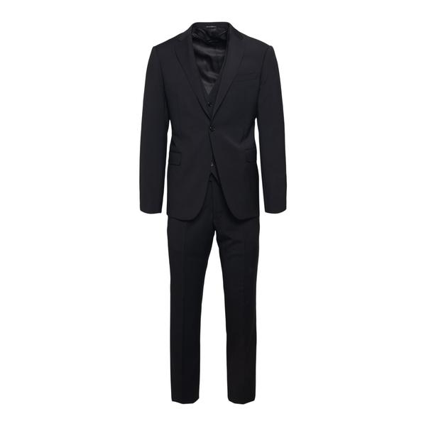 Elegant black suit                                                                                                                                    Emporio Armani A1YMYB back