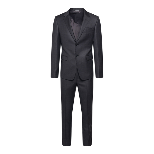 Elegant suit in black color                                                                                                                           Emporio Armani B1V18E back