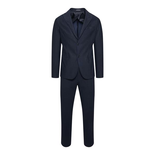 Elegant blue with texture                                                                                                                             Emporio Armani B1V99H back