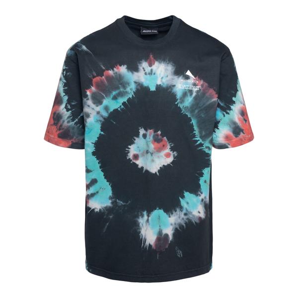 T-shirt multicolore effetto tie-dye                                                                                                                   Mauna Kea MKS100_1 retro