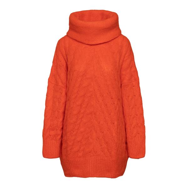 Long orange sweater                                                                                                                                   Msgm 3141MDM137 back
