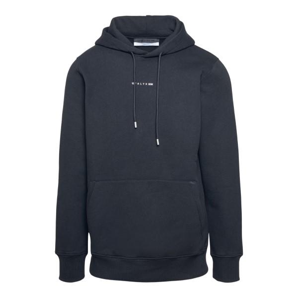 Black sweatshirt with logo                                                                                                                            Alyx AVUSW0009FA01 front