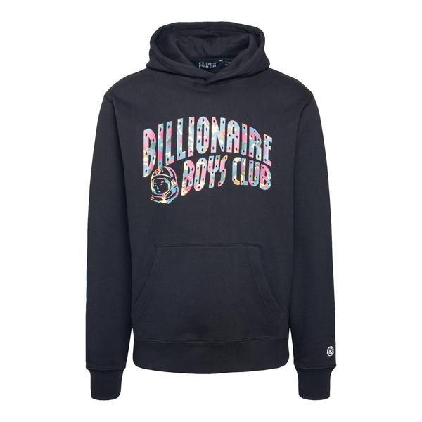 Black sweatshirt with multicolored logo                                                                                                               Billionaire boys club B20360 front