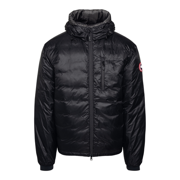 Black down jacket with logo patch                                                                                                                     Canada Goose CG5055M27 back