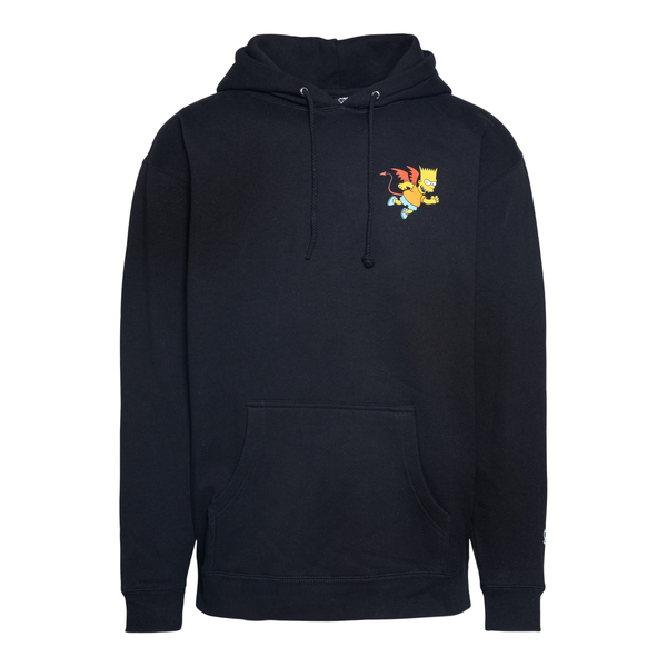 Sweatshirt with hood and print on the back                                                                                                            Chinatown Market CTM1970066 back