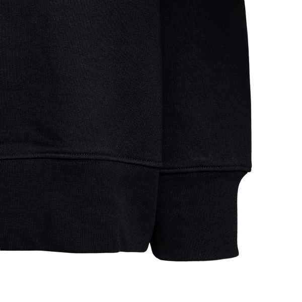 Black sweatshirt with embossed logo                                                                                                                    Y3