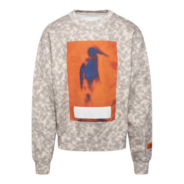 Tie dye sweatshirt                                                                                                                                    Heron Preston HMBA016F21JER004 back