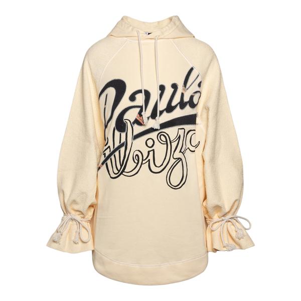Oversized white sweatshirt with brand name                                                                                                            Loewe Paula's Ibiza S616Y25X01 back