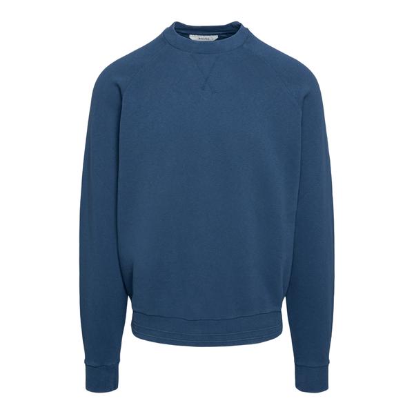 Minimal blue sweatshirt                                                                                                                               Zegna ZZ859 back