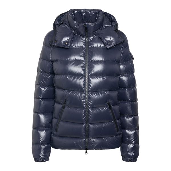Shiny blue down jacket                                                                                                                                Moncler 1A52400 back