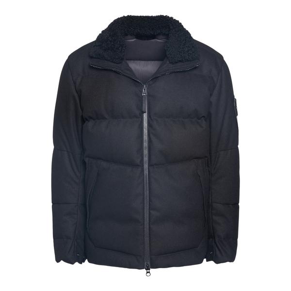 Down jacket in rubberized fabric                                                                                                                      Stone Island 7515440 back