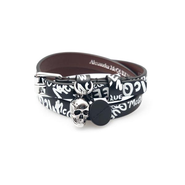 Skull strap bracelet                                                                                                                                  Alexander Mcqueen 554466 back