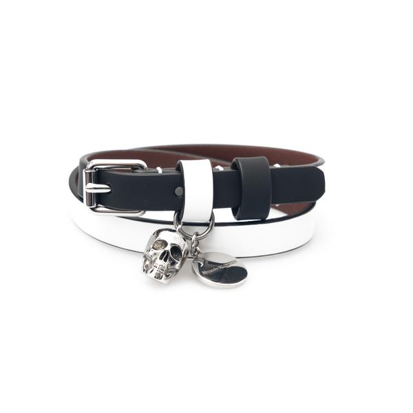 White skull bracelet                                                                                                                                  Alexander Mcqueen                                  554466 back