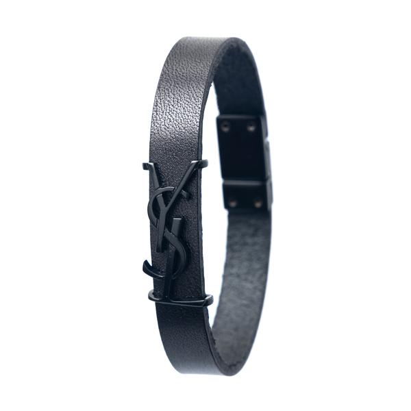 Strap bracelet with tonal logo                                                                                                                        Saint Laurent 559355 back