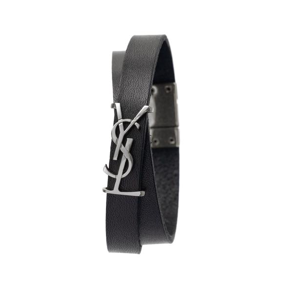 Strap bracelet with logo                                                                                                                              Saint Laurent 646558 back