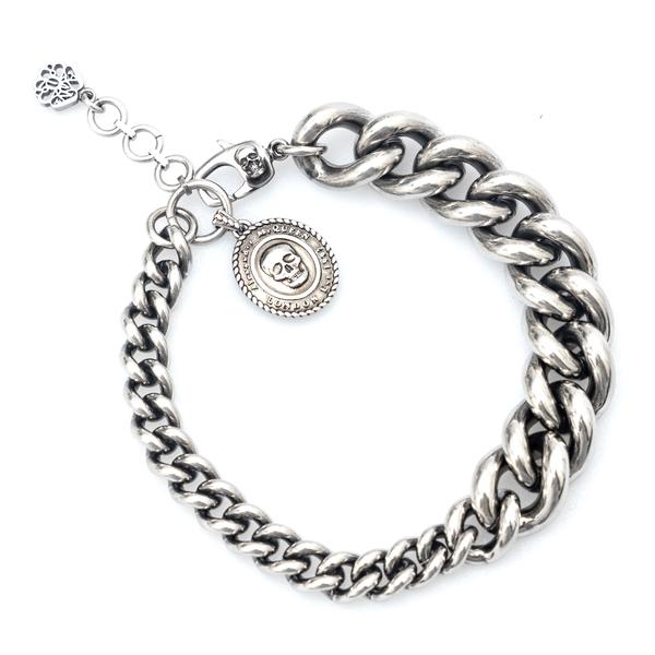 Skull chain bracelet                                                                                                                                  Alexander Mcqueen 669954 back