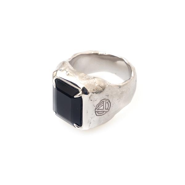 Ring with black stone                                                                                                                                 Ambush BMOC036F21BRA001 back
