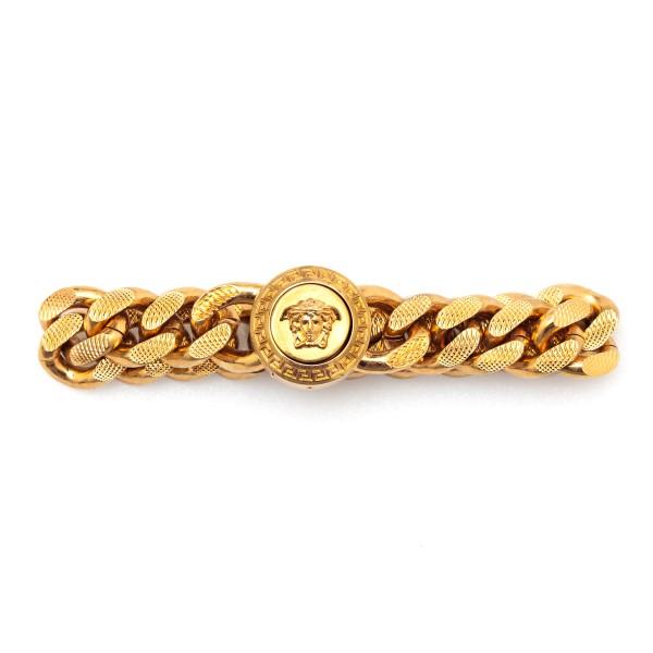 Gold chain bracelet with Medusa                                                                                                                       Versace DG06996 front