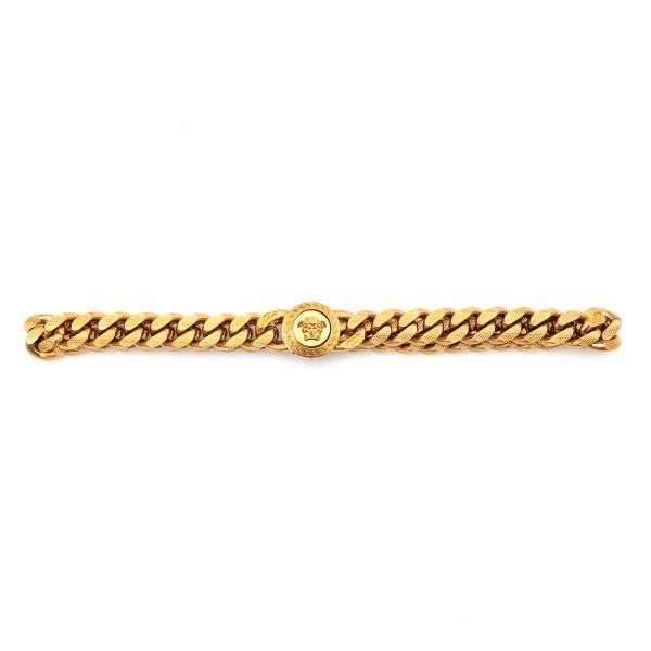Medusa chain choker necklace                                                                                                                          Versace DG16949 front