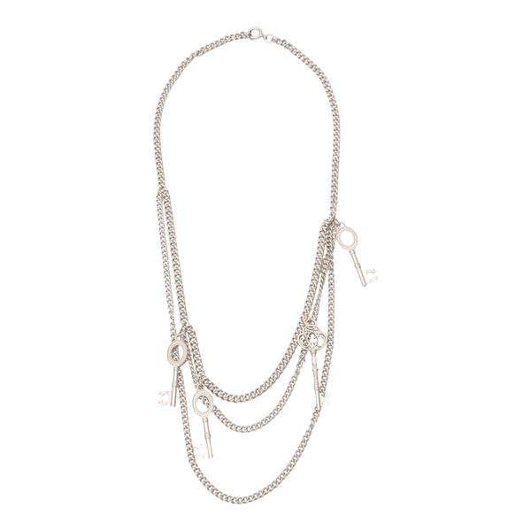 3-strand necklace                                                                                                                                     C2h4 R004AC138 back