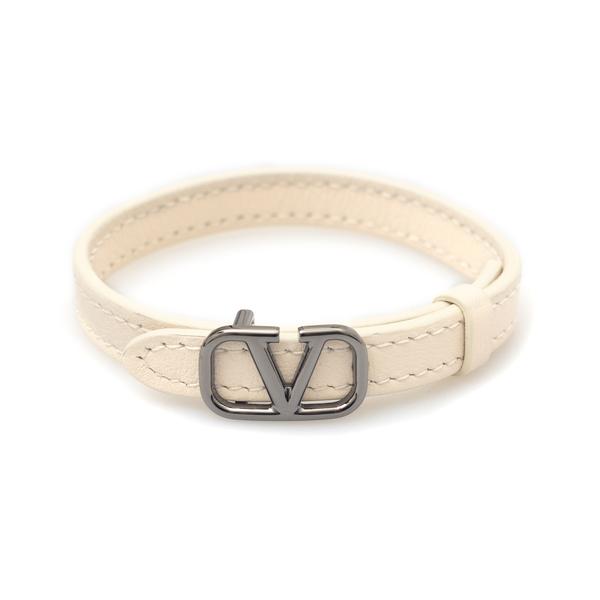 White strap bracelet with logo                                                                                                                        Valentino Garavani WY0J0P02 back
