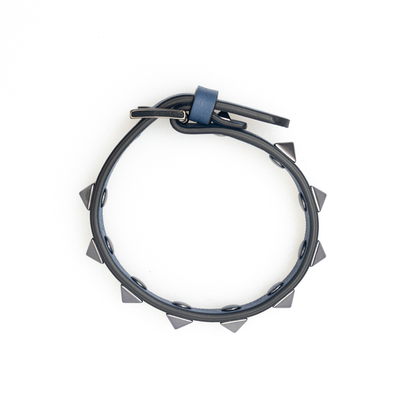 Blue bracelet with studs                                                                                                                              Valentino Garavani WY2J0801 back