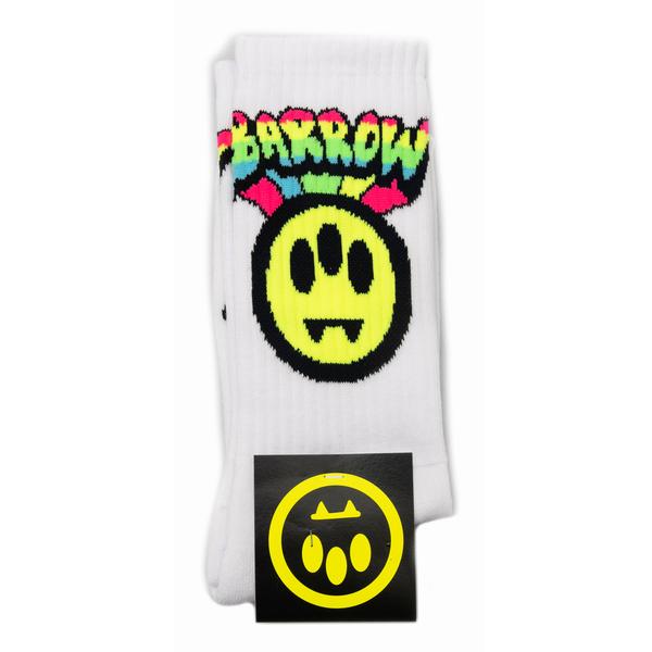White socks with prints                                                                                                                               Barrow 030025 back