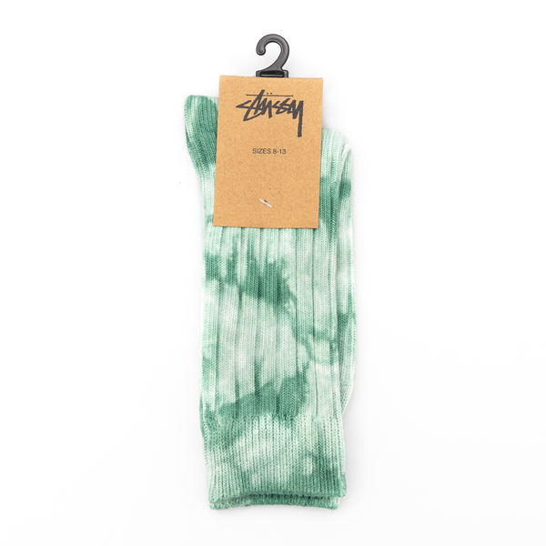 Calzetti verdi in stile tie-dye                                                                                                                       Stussy 138741 retro