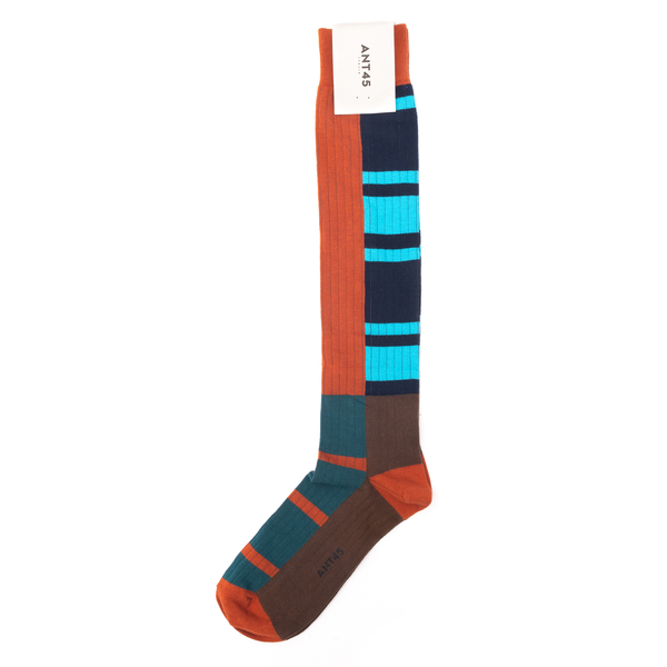 Multicolored socks with brand name                                                                                                                    Ant 45 21F30L back