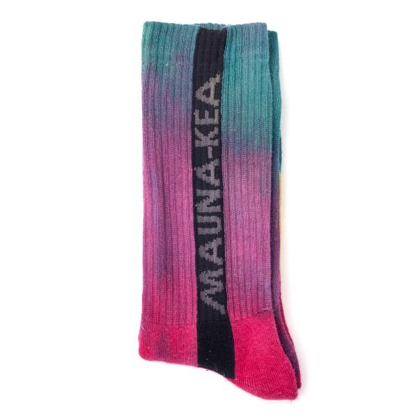 Calze multicolore con logo                                                                                                                            Mauna Kea MKUSOC retro