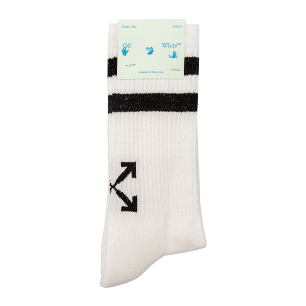 Socks with Arrows and stripes print                                                                                                                   Off White OMRA040F21KNI001 back