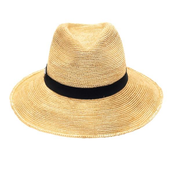 Cappello in paglia con logo                                                                                                                           Prada 1HC149 retro