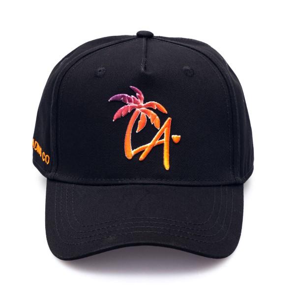 Cappello nero con simbolo L.A.                                                                                                                        Htc Los Angeles 21SHTCA001 retro