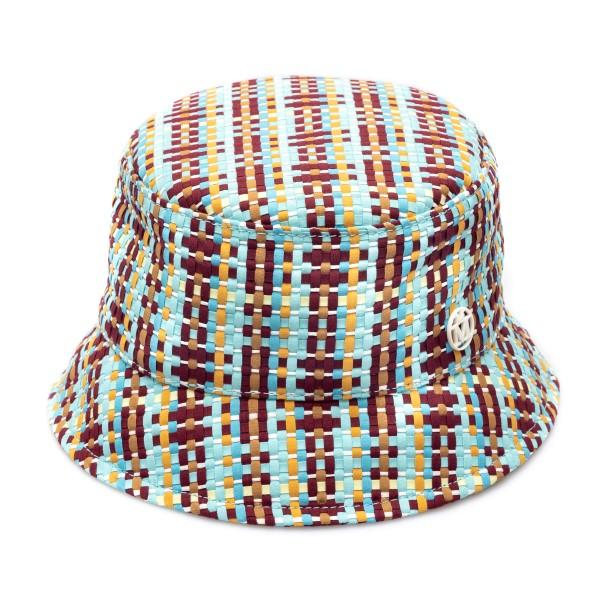 Multicolored braided bucket hat                                                                                                                       Maison Michel 2290027001 back