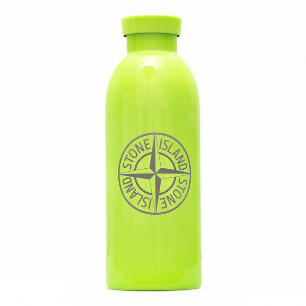Water bottle in lime green with logo                                                                                                                  Stone Island 7515970 back