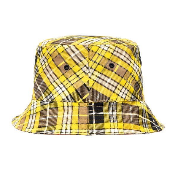Yellow checked bucket hat                                                                                                                             Burberry 8036994 back