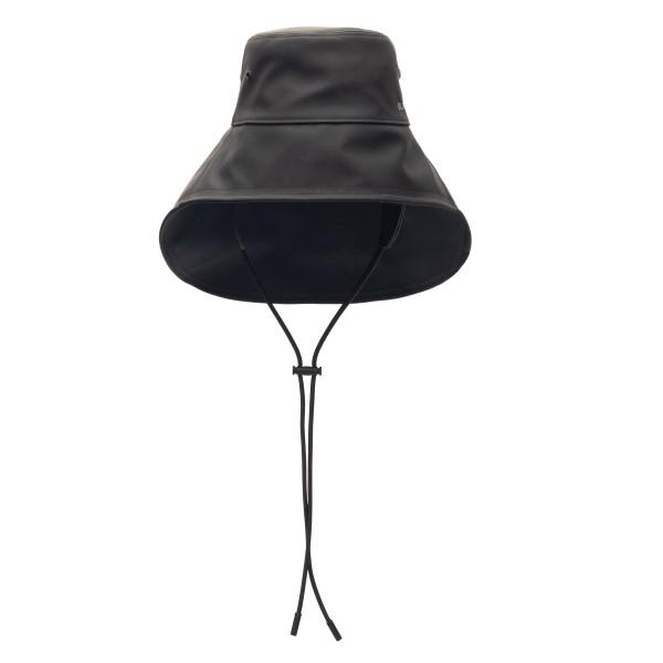 Black fisherman hat with logo                                                                                                                         Burberry 8040413 back