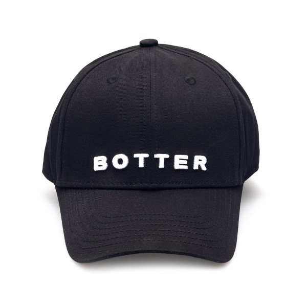 Black baseball cap with brand name                                                                                                                    Botter 9003 front