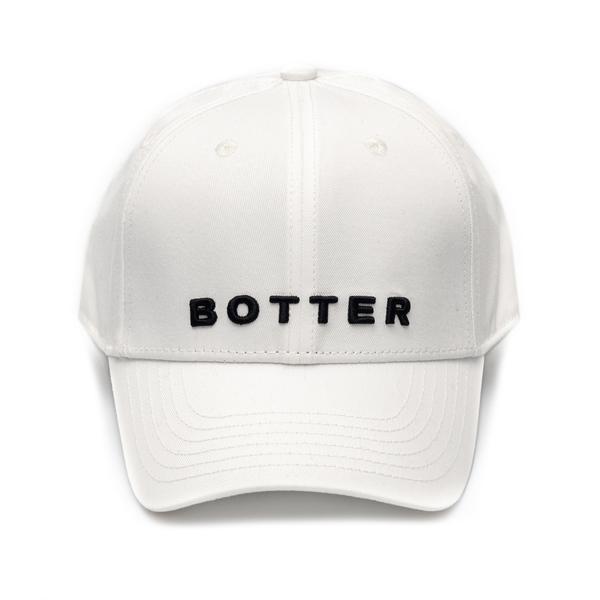 Cappello da baseball bianco con nome brand                                                                                                            Botter 9003 retro