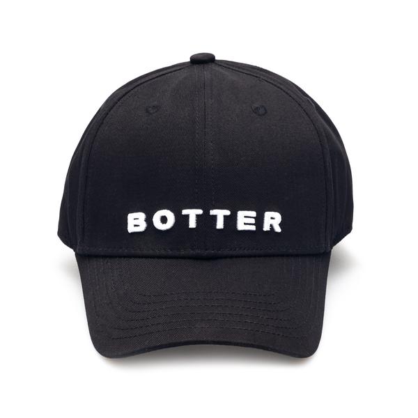 Cappello da baseball nero con nome brand                                                                                                              Botter 9003 retro