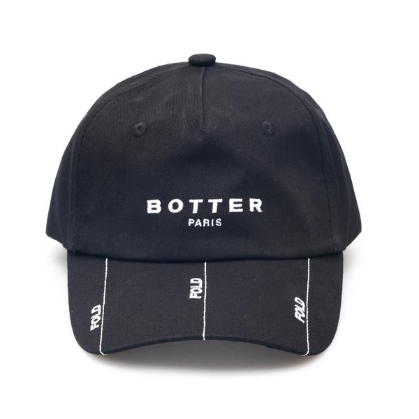 Cappello da baseball nero con ricami                                                                                                                  Botter 9024 retro