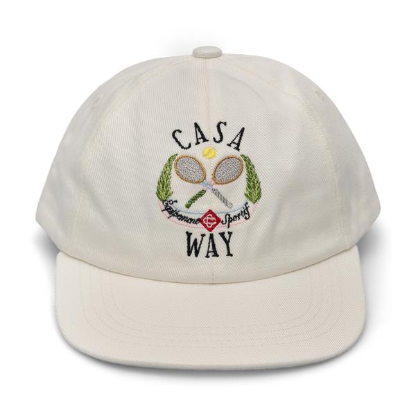 Cappello con ricamo                                                                                                                                   Casablanca AF21HAT002 retro