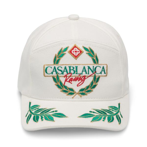 Cappello con ricamo                                                                                                                                   Casablanca AF21HAT008 retro