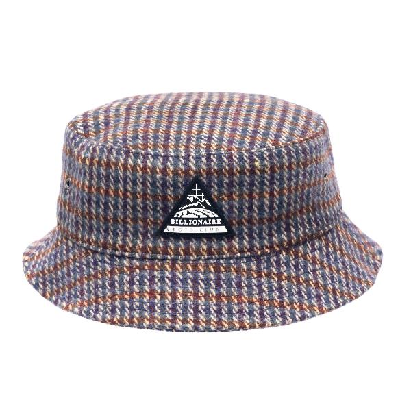 Pied-de-poule bucket hat                                                                                                                              Billionaire boys club B20457 front