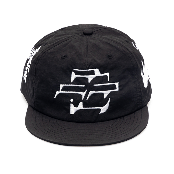 Black baseball cap with embroidery                                                                                                                    Going Ghost In The S GGTCB back