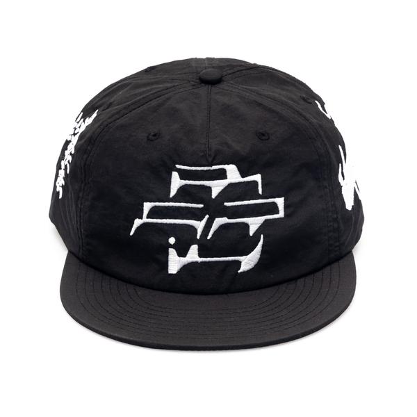 Cappello da baseball nero con ricami                                                                                                                  Going Ghost In The S GGTCB retro