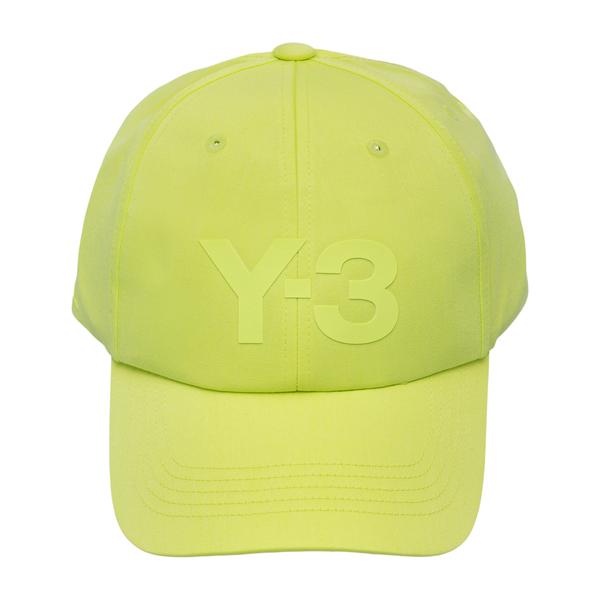 Yellow baseball cap with logo                                                                                                                         Y3 HA6532 back