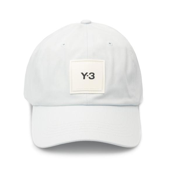 Cappello da baseball bianco con logo                                                                                                                  Y3 HE9727 retro
